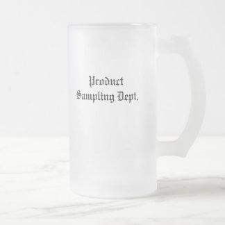 Product Sampling Dept. Mug