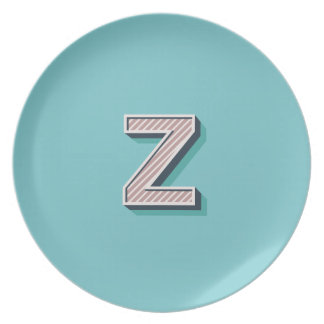 Product with letter Z Plates