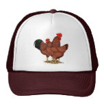 Production Red Chickens Cap