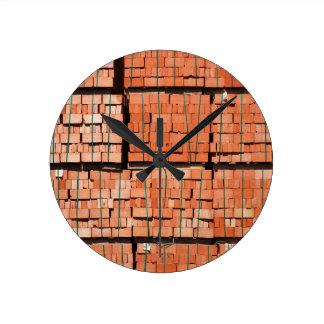 Products brickworks round clock