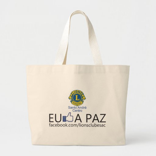 """Products campaign """"I enjoy the peace """" Tote Bag"""