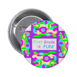 Products for first grade 6 cm round badge