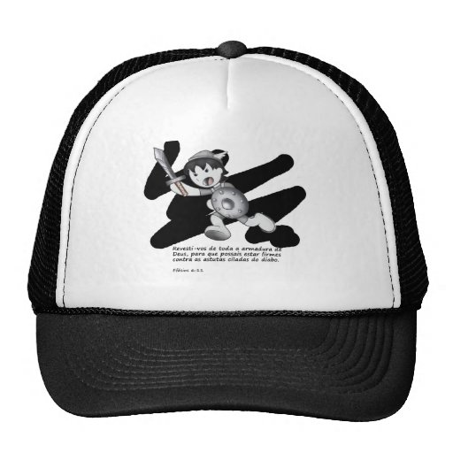 Products with illustrations of the armor of God Mesh Hat