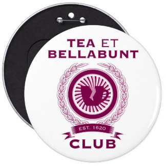 products with tea 6 cm round badge