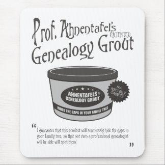 Prof. Ahnentafel's Genealogy Grout Mouse Pad