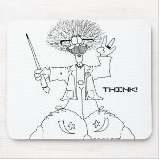 Profesor, THINK! Mousepad