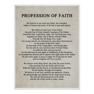Profession of Faith Posters