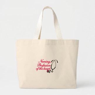 Profession of the Heart Jumbo Tote Bag