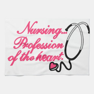 Profession of the Heart Towels