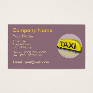 Profession Taxi Driver