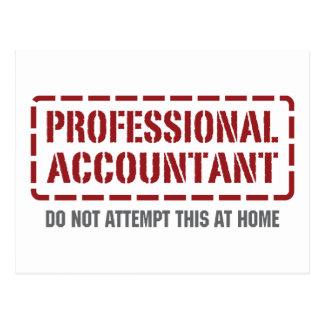 Professional Accountant Postcard