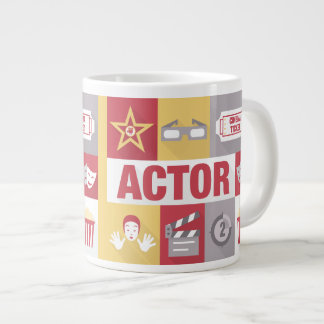 Professional Actor Iconic Designed Jumbo Mug