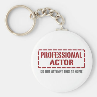 Professional Actor Key Ring