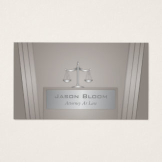 Professional and elegant Attorney Business Card