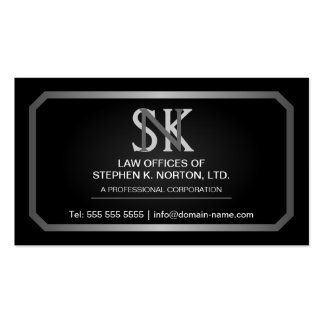 Professional Attorney Business Cards