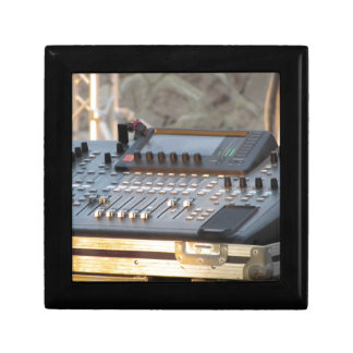 Professional audio mixing console gift box