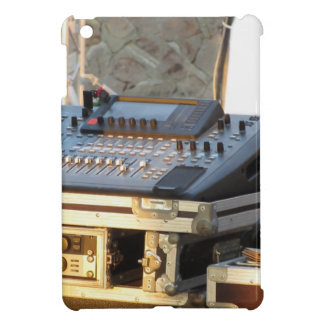 Professional audio mixing console iPad mini case
