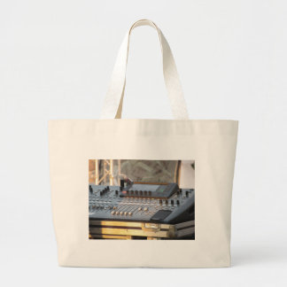 Professional audio mixing console large tote bag