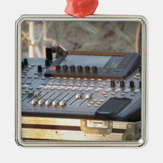 Professional audio mixing console metal ornament