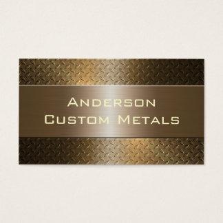 Professional Automotive Industrial Metallic Business Card