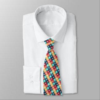Professional Banker Iconic Pictogram Tie