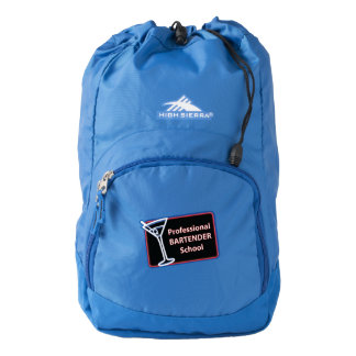 Professional Bartender School High Sierra Backpack