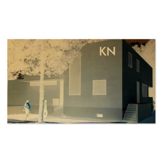 professional Bauhaus Architecture Business Card