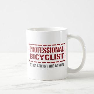 Professional Bicyclist Coffee Mugs