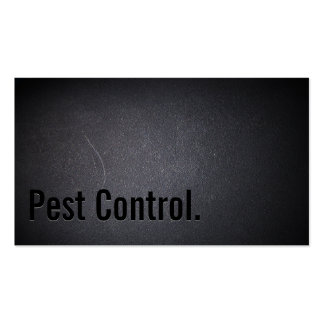 Professional Black Out Pest Control Business Card