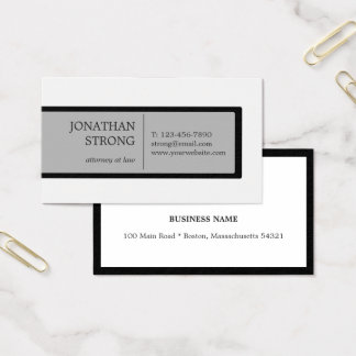Professional Box Business Card