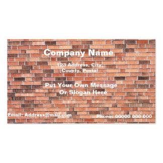 Professional Brick Wall Business Card