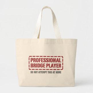 Professional Bridge Player Canvas Bags