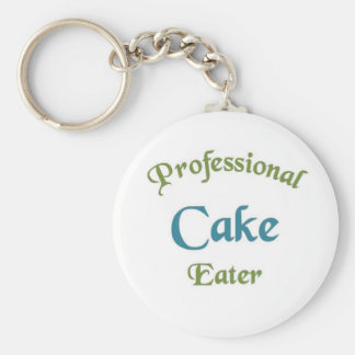 Professional cake eater keychains