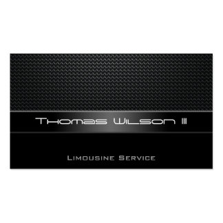 Professional Carbon Fiber Limo Business Cards