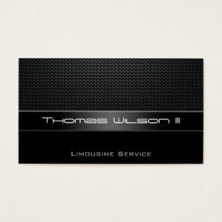 Professional Carbon Fiber Limo Business Cards