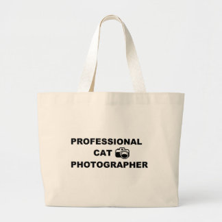 Professional Cat Photographer Jumbo Tote Bag