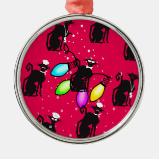 Professional Cat Products Metal Ornament