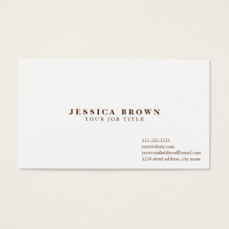 Professional Charity Business Cards Template
