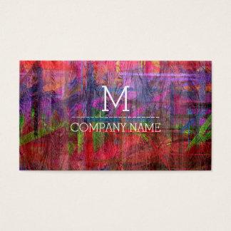Professional Colorful Wood Monogram #2