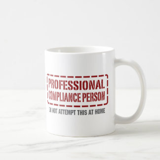 Professional Compliance Person Basic White Mug