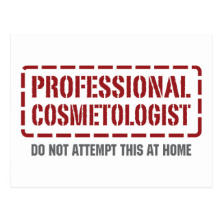 Professional Cosmetologist Postcards
