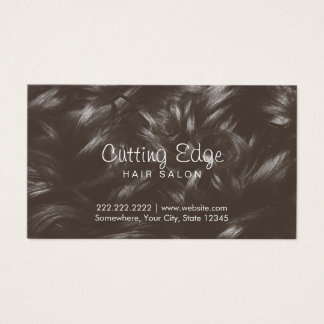 Professional Curly Hair Background Hair Stylist Business Card