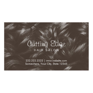 Professional Curly Hair Background Hair Stylist Pack Of Standard Business Cards