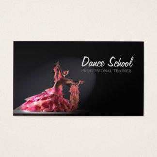 Professional Dancer Studio Dance School Card