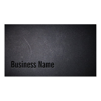 Professional Dark Automotive Business Card