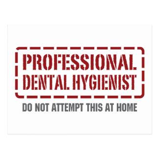 Professional Dental Hygienist Postcard