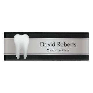 Professional Dentist Dental Assistant Name Tag