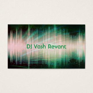Professional DJ Audio Sound Waves