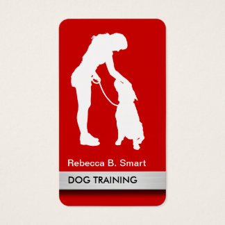 Professional Dog Trainer Business Cards