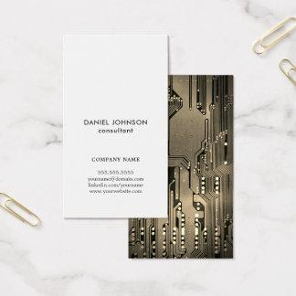 Professional Elegant Circuit Board Consultant Business Card